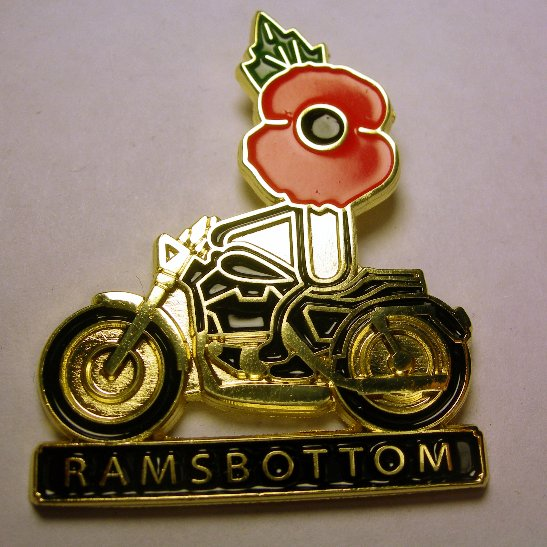 Ramsbottom Biker Badge